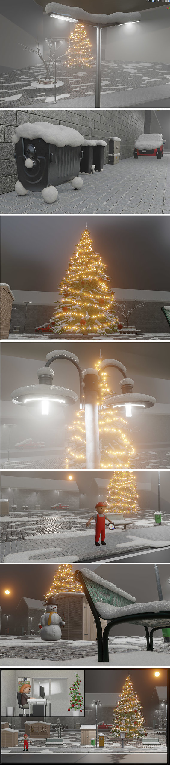 Winter-Christmas-Scene-2020-WIP-(Blender-2.91-Eevee)