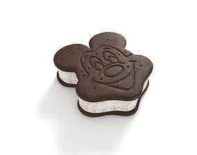 3D Mickey Ice Cream Sandwich