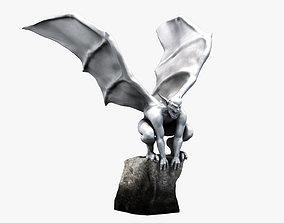 3D asset Gargoyle Statue