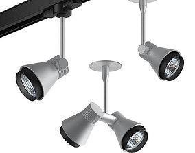 3D Architectural Mini Flap spotlights
