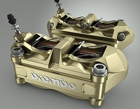 Brembo Brake Calipers 3D