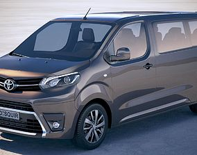 Toyota Ace Verso 4-door 2018 3D