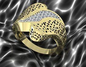 Ring 3D printable model jewelry rings