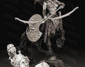 centaur archer miniature by creative geek MB 3D print 1
