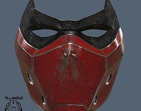 3D print model Red Hood Mask version 2