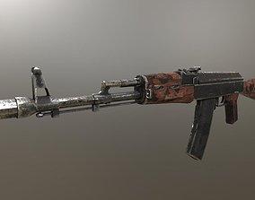 Assault Rifle AK-74 3D model