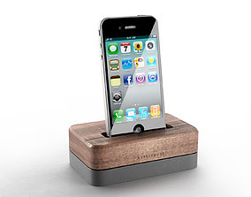 Iphone with Docking Station 3D