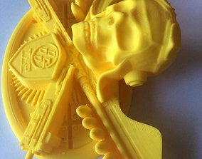 Label instead of Toyota Camry logo 3D print model