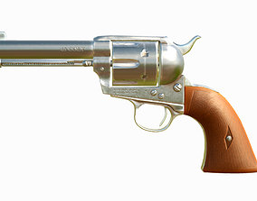 3D model realtime Colt Single Action Army