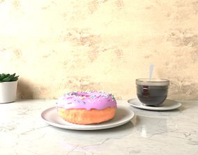Coffee and Donut 3D