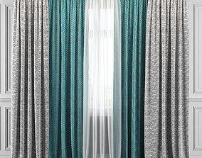 Curtain Set 315 3D model