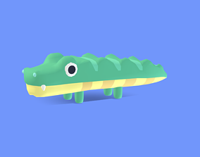 3D model Chomp the Crocodile - Quirky Series