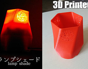 Lamp shade lighting 3D printable model