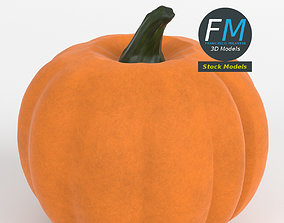 Stylized pumpkin 3D