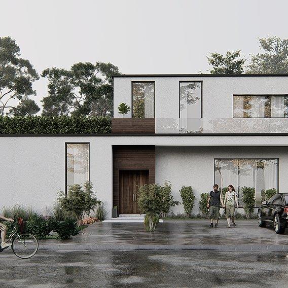 The Horizontal House