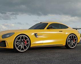3D Mercedes-AMG GT R Coupe model
