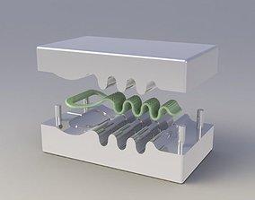 Mold for bottle opener 3D printable model