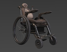 3D animated Wheelchair