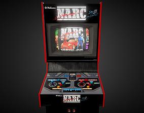 Narc Arcade Machine 3D model