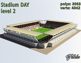 Stadium Level 2 Day 3D model