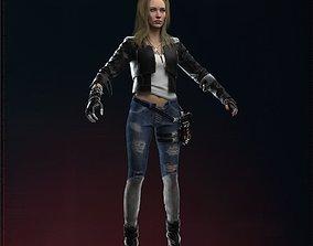 3D Cyberpunk 2077 Alt Cunningham