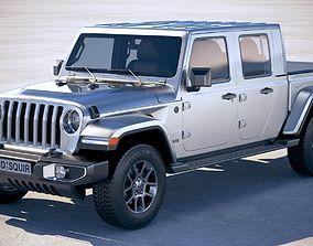 3D Jeep Gladiator 2020