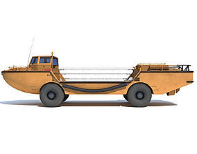 LARC-V Amphibious Vehicle 3D