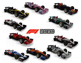 3D F1 2020 Pack All 10 Team