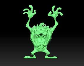3D printable model Taz Looney Toon Monster