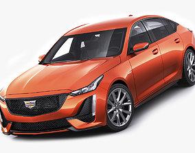 3D model CT5-V sport sedan