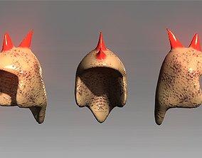 3D asset Desert Giant Lizard Helmet