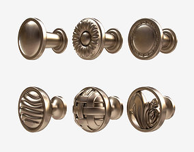 Knobs Collection 3D