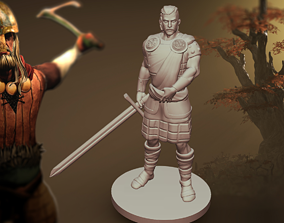 3D Highlander Figure