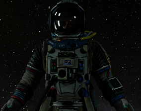 3D asset Astronaut Engineer