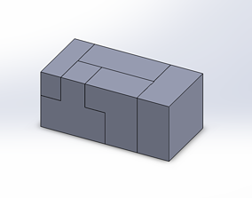verjaardag 3D puzzle