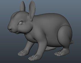 3D asset Rabbit Model