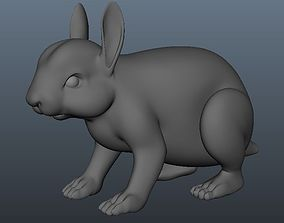 3D asset Rabbit Model