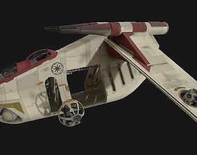 3D model Star Wars - LAAT