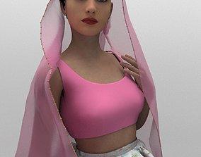 3D model Fashion Lehenga - Indian Fashion Design