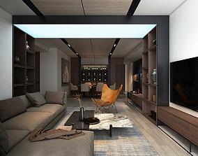 3D model PH Livingroom K