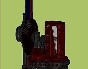 3D print model gear chap