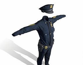 3D Police Uniform
