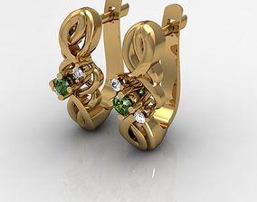 3D print model earrings for women summer collection