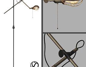 3D Steampunk Extension Pole Floor 2