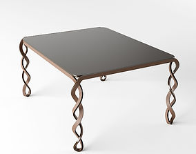 Art deko cofe table 3D