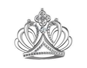 Brooch Crown 3D printable model
