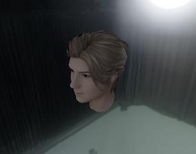 WOMAN HAIR 1 3D model