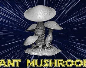 3D print model Giant mashrooms