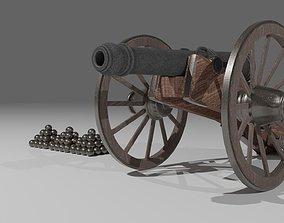 Gauss Gun 1812 3D