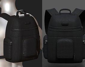 3D asset Backpack Camping Generic military combat